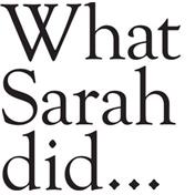 What Sarah Did